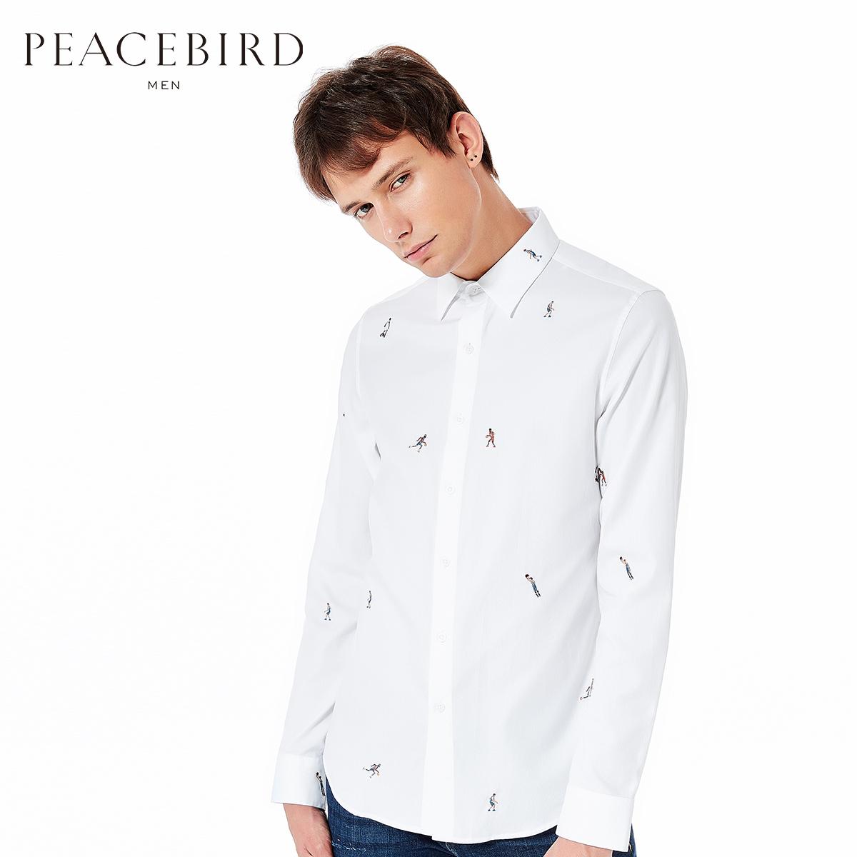 Usd 15100 X Pacific Bird Mens Long Sleeved Shirt Mens Spring And