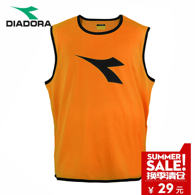 Authentic diadona football team uniforms vest uniforms training Sleeveless  Vest breathable mesh 473459e8ec769