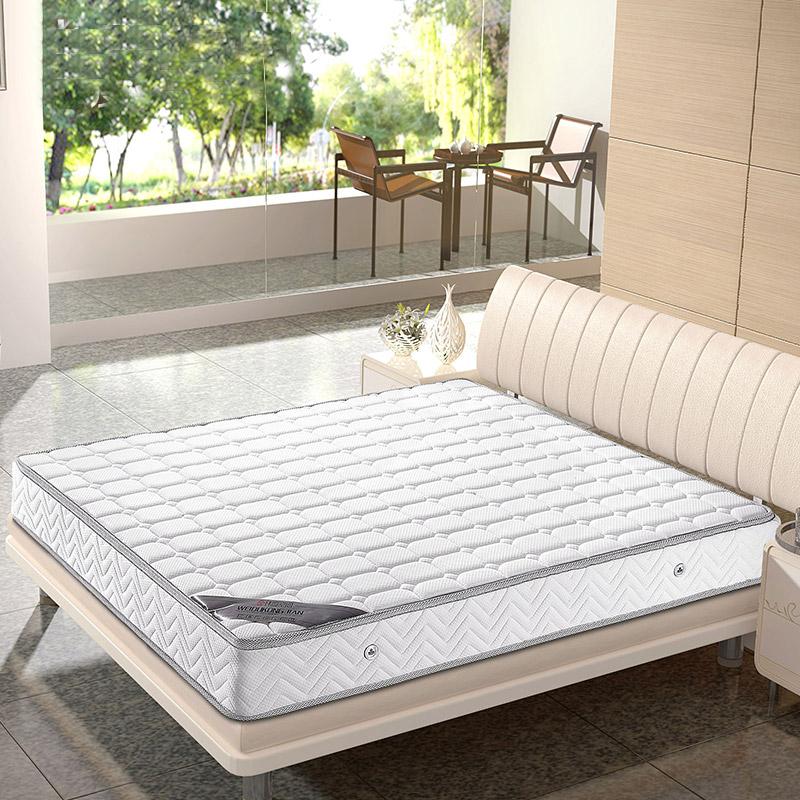 高档乳胶床垫1.8席梦思九区独立弹簧恒温环保睡眠床垫2/2.2/2.4米