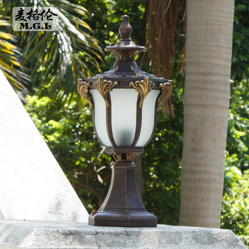 Led Wall Lamp Wall Lamp Outdoor Pillar Lamp Outdoor Garden Villa Door Lamp  European Garden Lamp