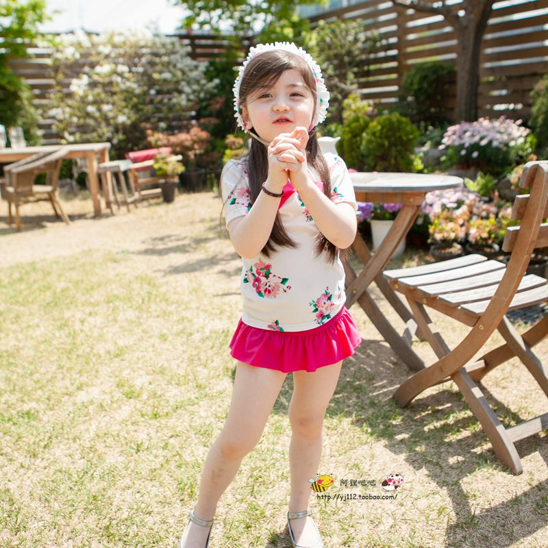 Cute baby korean pictures impremedia dudumumu children swimsuit girls split korea version girls cute baby swimwear princess sun protection suit voltagebd Gallery