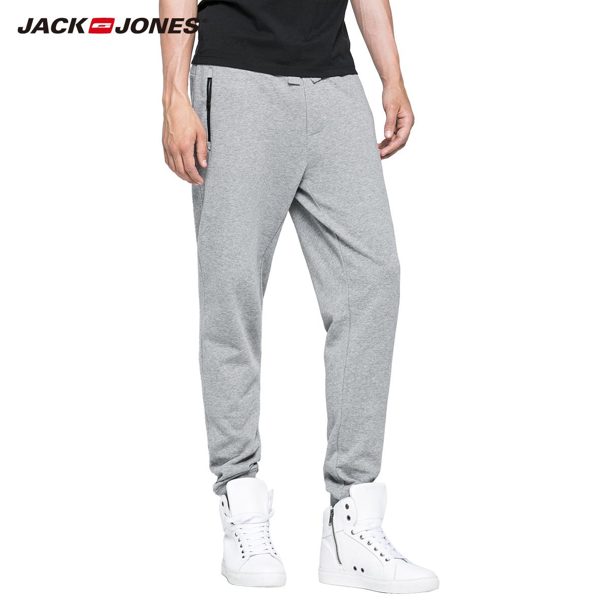 Vĩnh viễn off jack jones 16 mới thời trang bông người đàn ông chùm chân quần quần c | 215314022