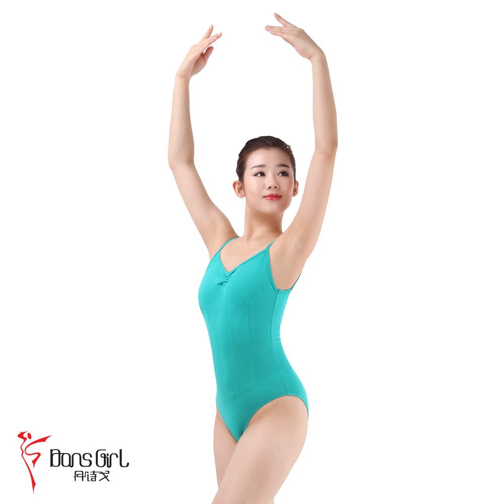 Dan Shige 2162 quần áo khiêu vũ tập thể dục quần áo cơ thể múa ba lê phù hợp với cơ thể thể dục dụng cụ phù hợp với cô gái jumpsuit thể dục nhịp điệu quần áo