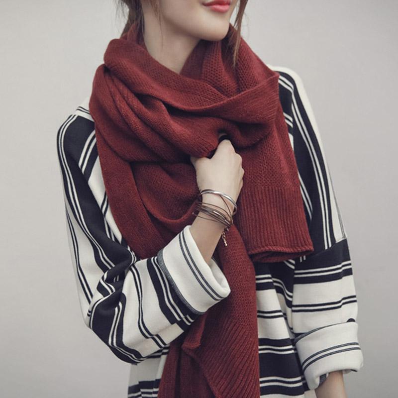 围巾女冬季加厚百搭毛线围脖 券后14.9元
