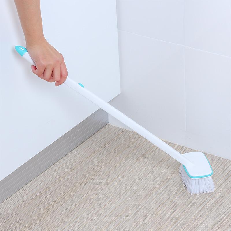 Japan floor brush long handle cleaning brush bathroom kitchen gap ...