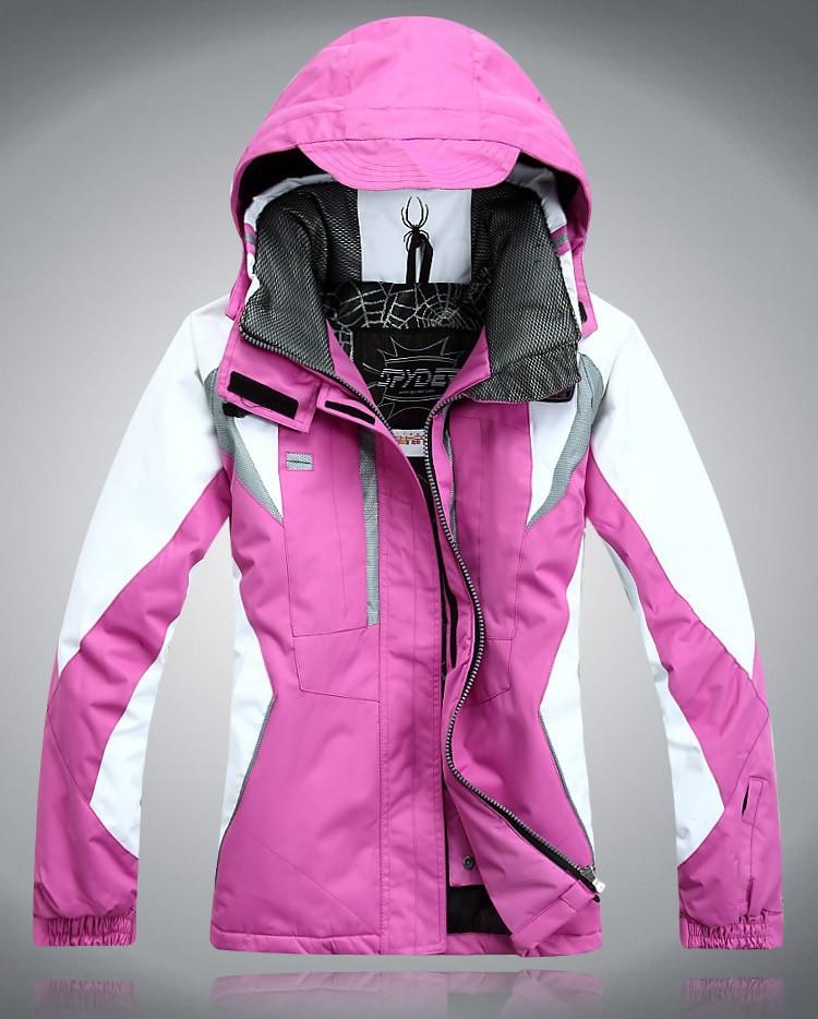 Цены в убыток 2017 специальное предложение моно,парный доска SPYDER паук мисс ветролом водонепроницаемый теплый катание на лыжах куртка