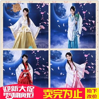 The new Hanfu costumes Hanfu formal women's songs Qu modified photos Tang costumes Han costumes