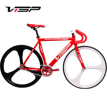VISP muscle dead flying bicycle trx790 aluminum alloy muscle frame three blade wheel reverse riding men's and women's Fluorescent