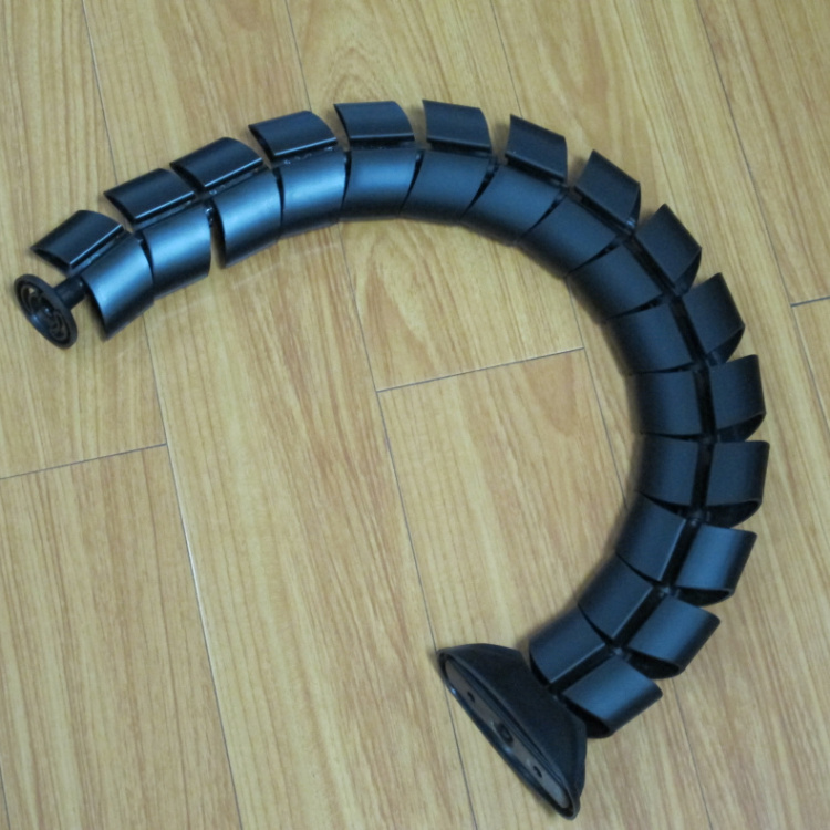 USD 10.79] Flat black Serpentine pipe hidden line pipe ... on