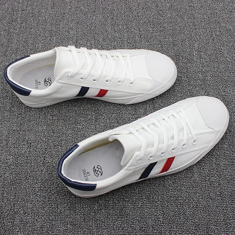 Canvas Shoes male strap small white shoes summer trend shell head men's shoes youth hundred sports casual shoes men's shoes