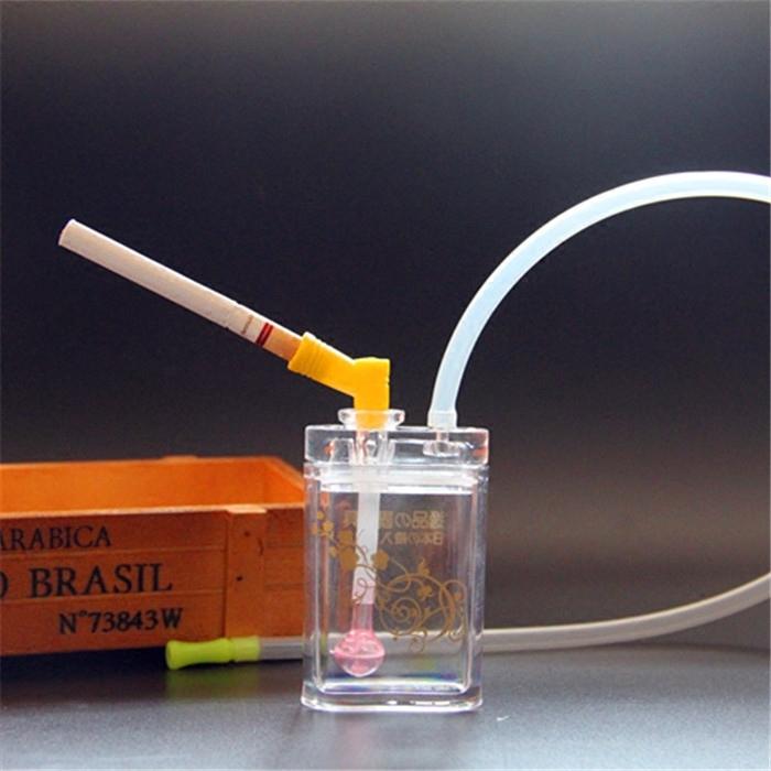 送礼款 水烟壶全套配件 水烟斗 亚克力玻璃水晶迷你壶壶 烟具烟嘴