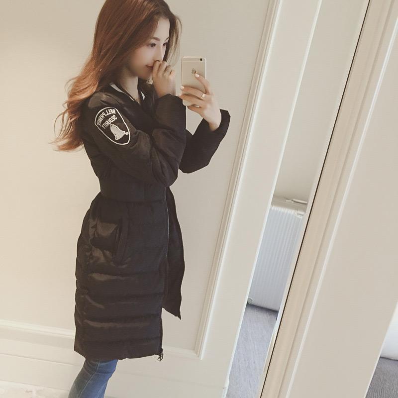 2015冬季韩国休闲羽绒棉衣女学生宽松加厚保暖中长款棉服面包服女