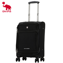 Huashi new ultra light tension technology Cardan wheel business travel trolley case 20 inch OIWAS fashion trend solid color