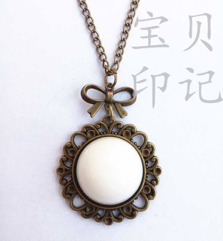 Breast milk Pearl souvenir custom breast milk pendant necklace women s  sweater chain necklace pendant crystal pendant 42c6a3f425