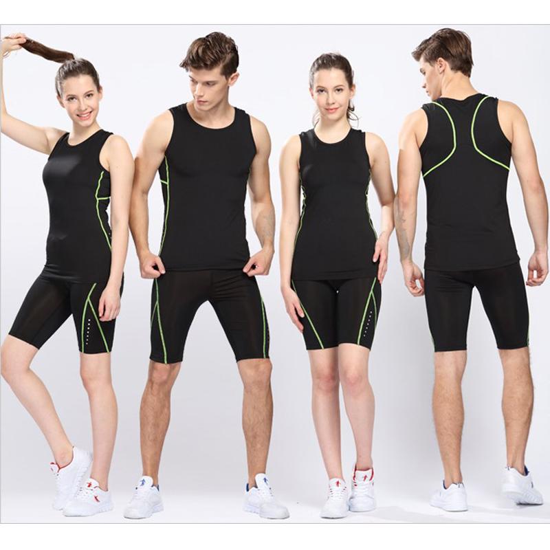 Для грамм эластичность плотно поле путь костюм шорты конкуренция обучение движение одежда мужской и женщины фитнес бег одежда