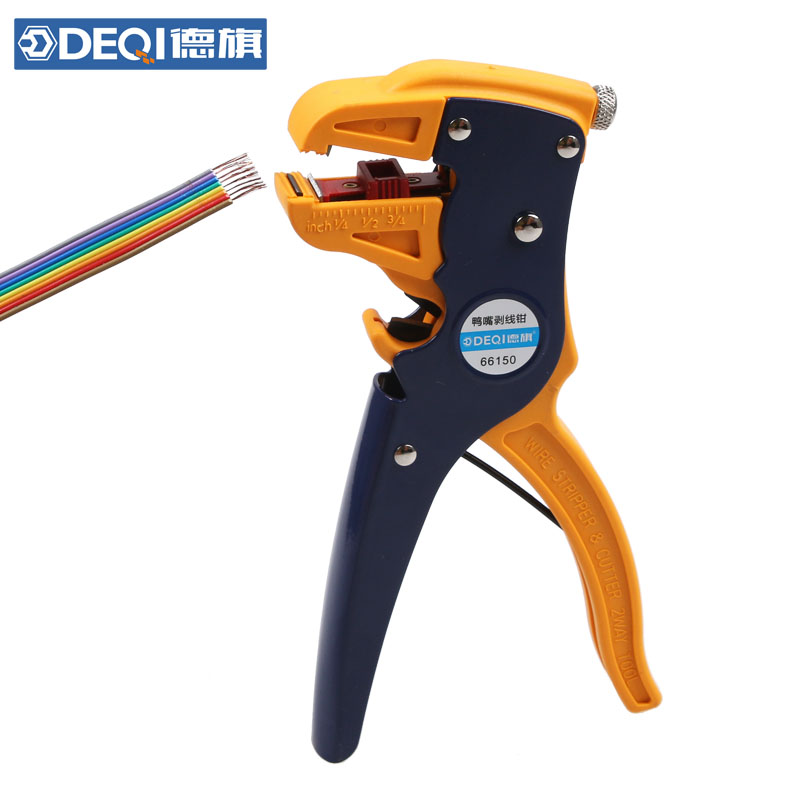 USD 13.98] De-flag cable electrical wire multi-function stripper ...