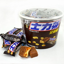 Snickers peanut chocolate 460g, devo Snickers family barrel, family pack, bulk, wholesale and package