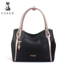 Golden Fox leather women's bag one shoulder bag women's 2019 new spring and summer women's soft leather bag brand carry bag