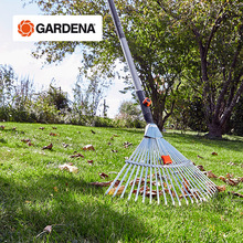 Garden tools imported from Germany, adjustable rake, defoliating weed collection rake