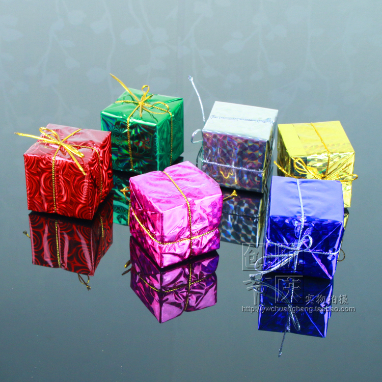Chuanghang Christmas pendant Small gift bag Pendant Christmas decorations Christmas supplies Christmas gift bag
