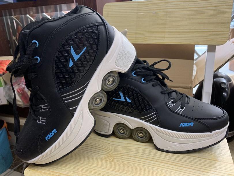 抖音同款:运动鞋可变形为溜冰鞋-1
