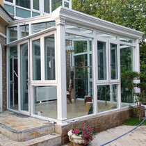 Jin Kai Shield Sichuan aluminum alloy sun room glass garden terrace loft European-style broken bridge aluminum alloy sun room