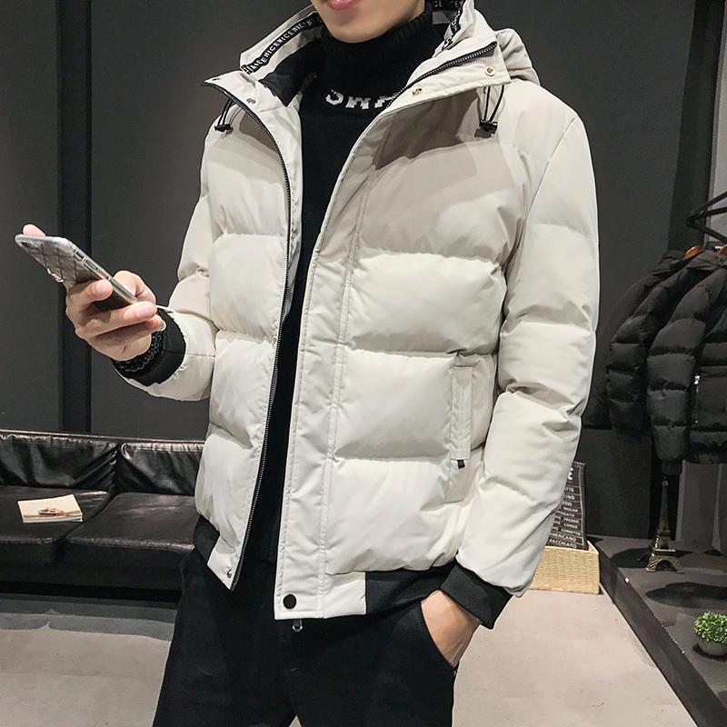 2019冬天男士新款棉衣冬裝青少年學生加厚棉服外套保暖棉襖冬季