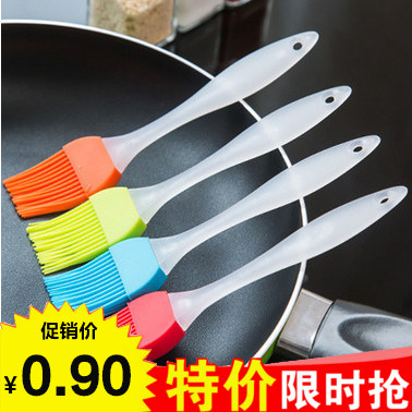 Kitchen high temperature silicone oil brush Barbecue brush Kitchen baking tools Cake oil does not lose hair seasoning brush