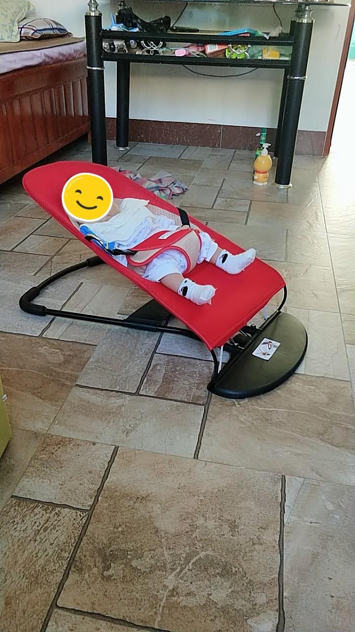 抖音同款:宝宝自动哄睡觉躺椅-1