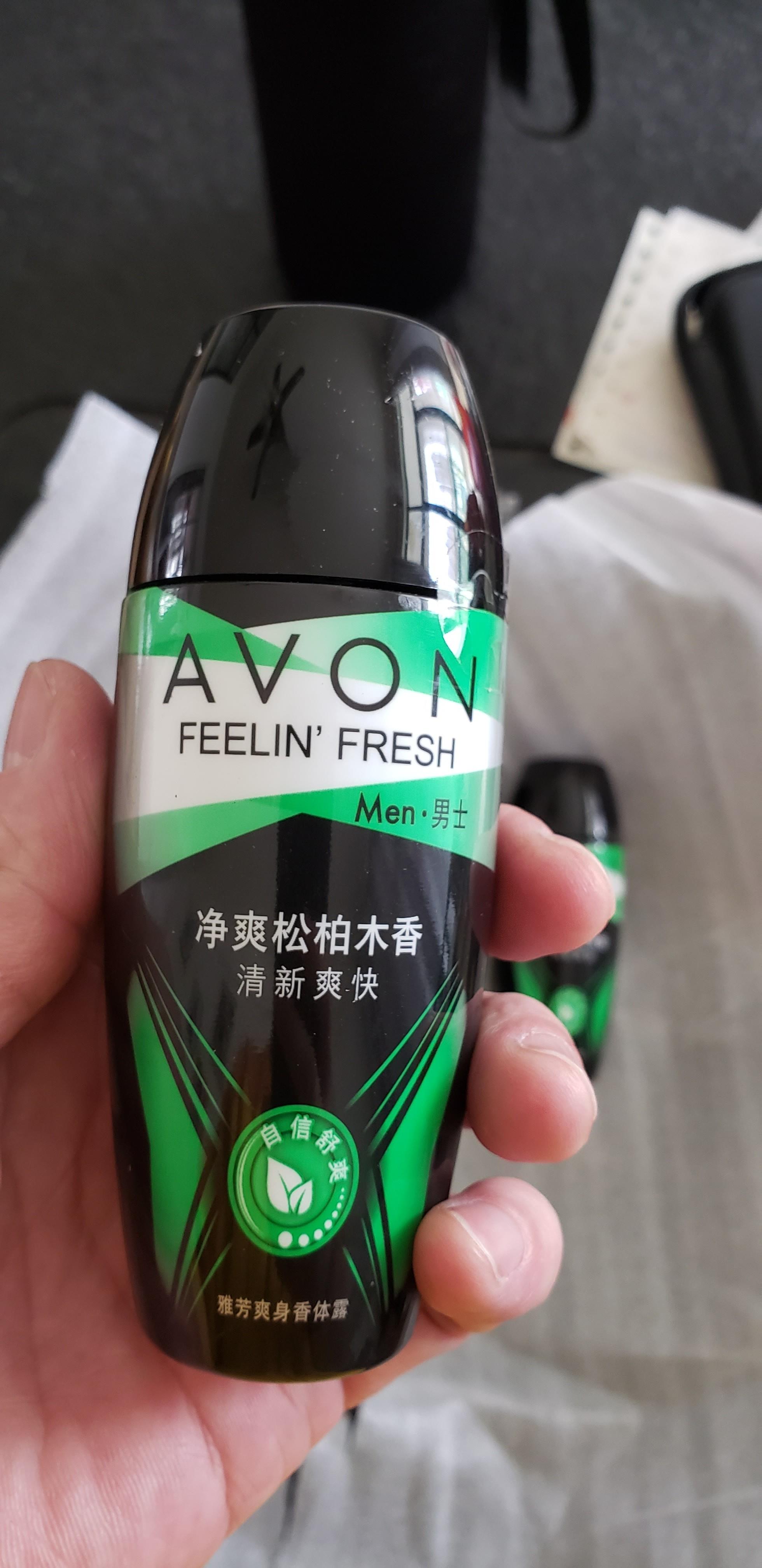 Avon/雅芳爽身走珠香体露40ml