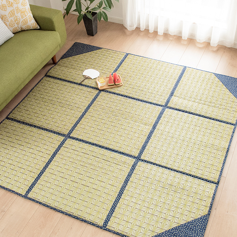 Anese Style Environmental Protection Natural Lin Gr Thickened Tatami Mats Summer Living Room Mat Children Crawling Pad Folding Sound Absorption