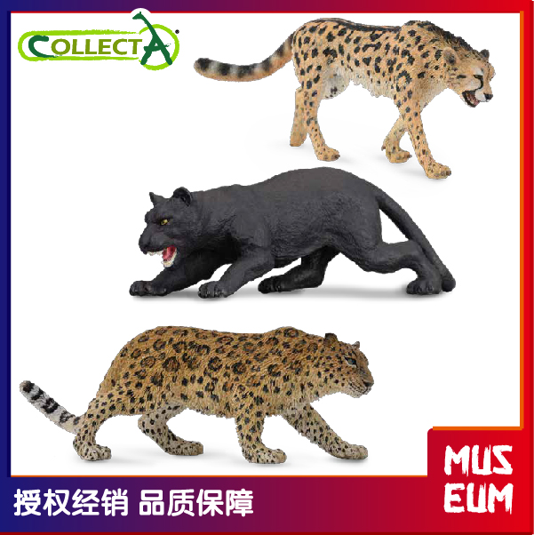 Action Figures Toys & Hobbies Black Panther 11 Cm Wild Animals Collecta 88205