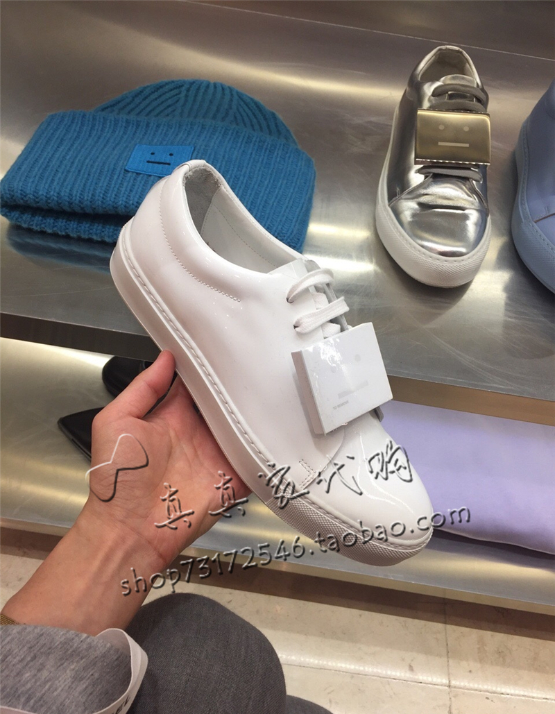acne smiley shoes