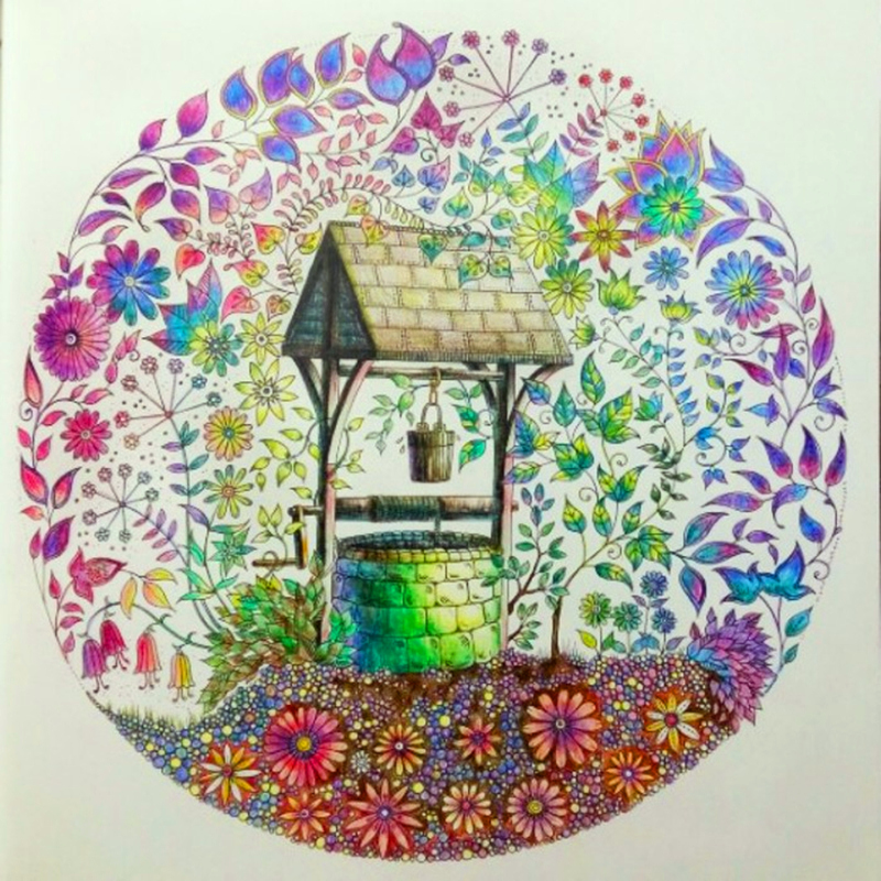 Fantasy Dreamland A Hand Painted Coloring Book With A Roaming