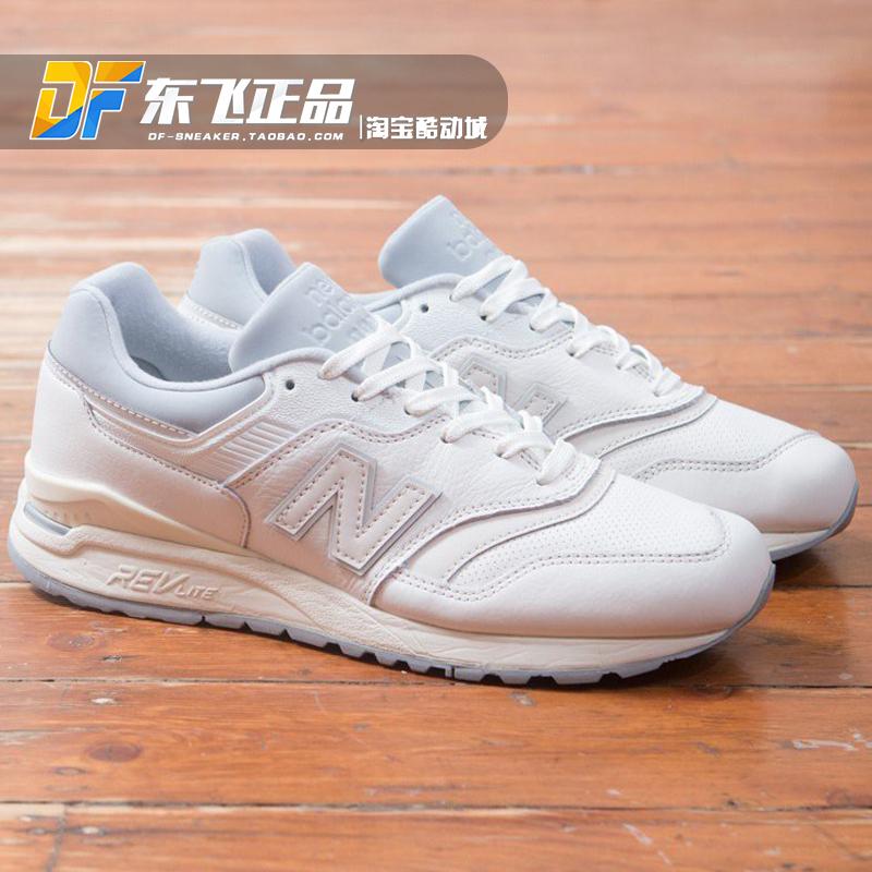 89eda075065 New Balance men and women NB running shoes white Neutral platform ...