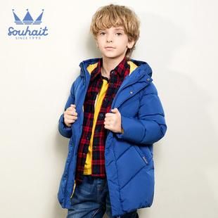【预售】男童羽绒服新款冬季中长款加厚中大童羽绒服外套