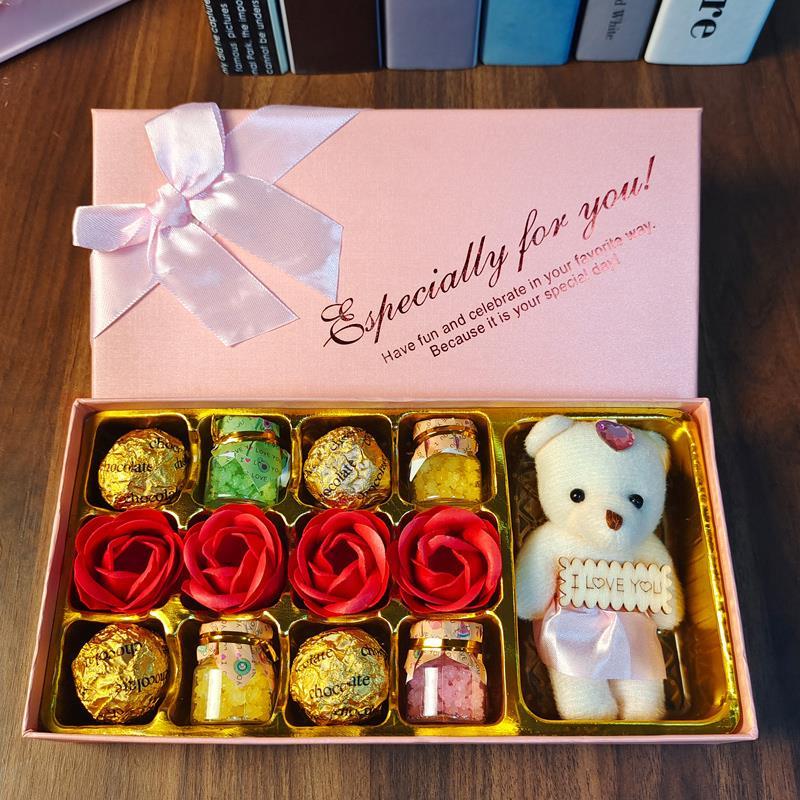 情人节礼物送女友惊喜生日礼物女生浪漫结婚纪念送老婆七夕仪式感