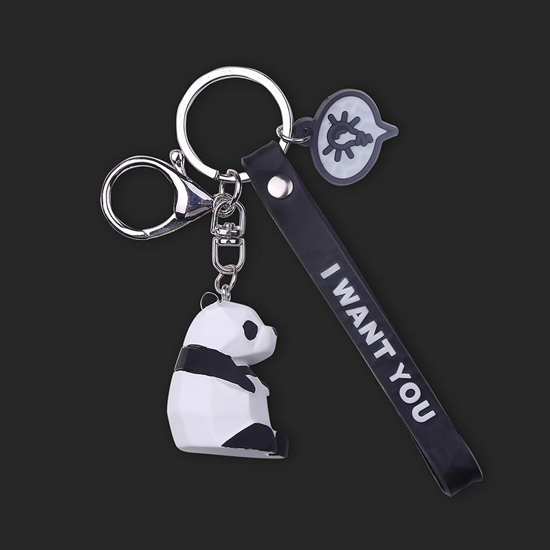 创意卡通钥匙链挂件创意汽车钥匙扣锁匙扣男士女士钥匙圈环包挂饰