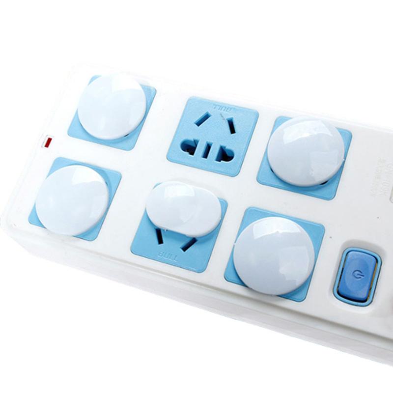 宝宝插座保护盖儿童防触电安全塞婴儿插头插座孔保护套40个装包邮_领取2元淘宝优惠券