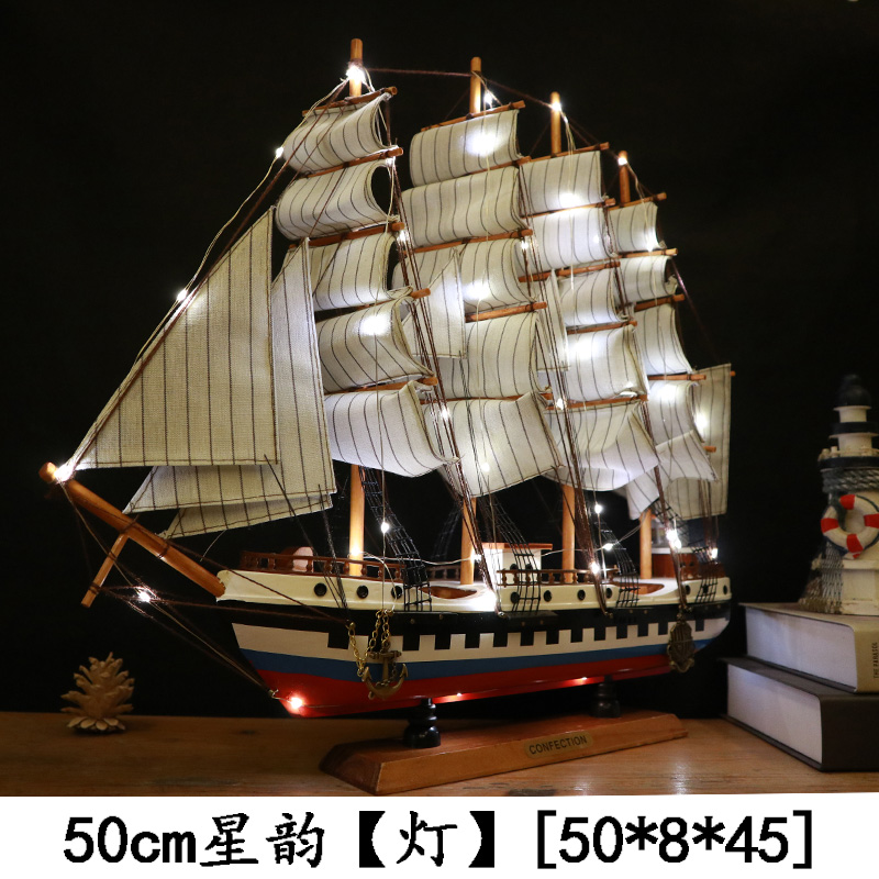 Usd 27 96 Large Solid Wood Black Pearl Pirate Ship Sailing Model