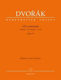 Книги/журналы/газеты «Оригинальные» двор á k Дворжака Седьмая симфония соч 70 Ба 10417