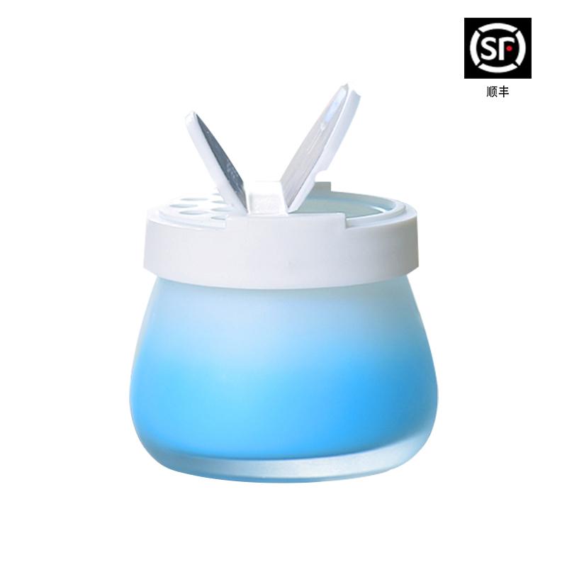 家用空气清新剂汽车香膏衣柜香薰室内固体清香厕所卫生间除臭神器
