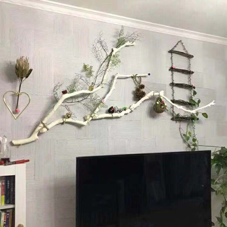 Tree Decoration Dry Branches Wall Dead