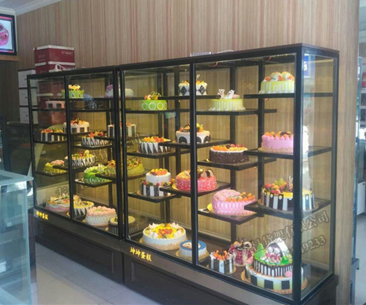 The new bread Cabinet s&le Cabinet birthday cake model Cabinet Display Rack multi-layer shelf & USD 418.21] The new bread Cabinet sample Cabinet birthday cake model ...