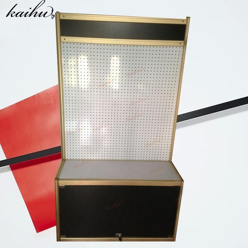 Elegant Mobile Phone Accessories Cabinet Cosmetics, Ornament, Container, Hole  Board, Hole Board Display Cabinet, Computer Cabinet Shelf
