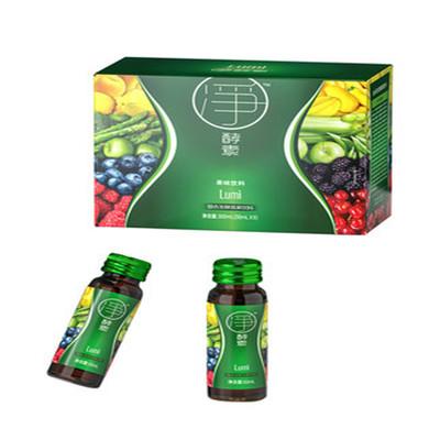 lumi果蔬酵素饮原液正品水果孝素宿便毒肠清非粉梅果冻益生菌6瓶