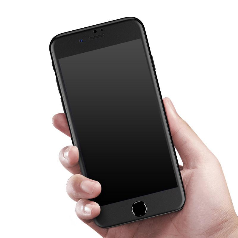 VH 苹果6s钢化膜 iphone6plus全屏6全覆盖3D曲面6p防爆软边磨砂