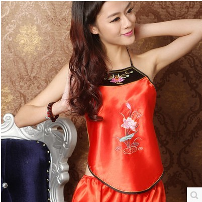 537a0f58876a Bellyband pajamas underwear ladies bellyband large size ethnic wind Chinese  wind adult bellyband sexy men and women suit Lotus