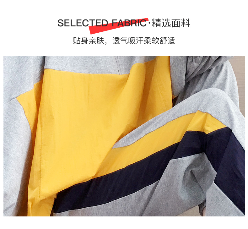 Tide brand early autumn sports suit women's 2020 new autumn fashion long-sleeved casual top trousers autumn two-piece set 47 Online shopping Bangladesh