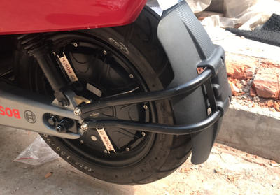 Jinzhongge Mavericks N1S rear fender modification bracket stainless steel carbon fiber fender widening